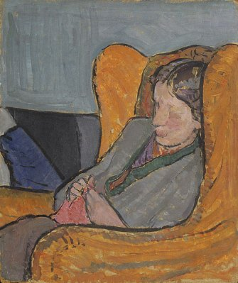 Venessa Bell's portrait of her sister Virginia Woolf