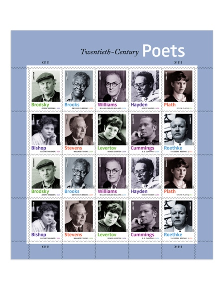Poets! On Stamps! Oh My!