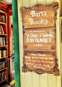 Bart's Books Sign