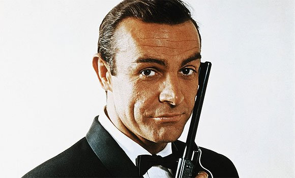 Bond looking suave from Dr. No in 1962