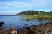 Herrang, Sweden in the summer