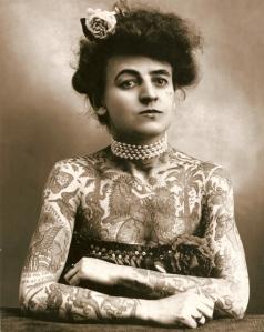 tattoo victorian