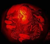 Mona Lisa Pumpkin