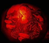 Mona Lisa Pumpkin