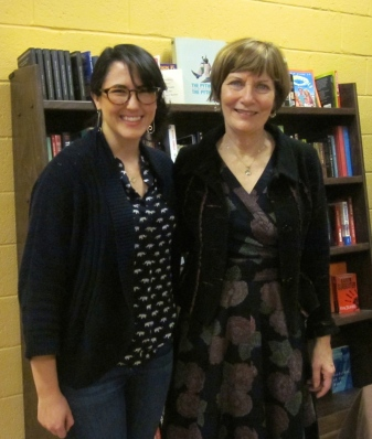 TSHS Managing Editor, Abigail Browning (L) and Maureen Corrigan (R)