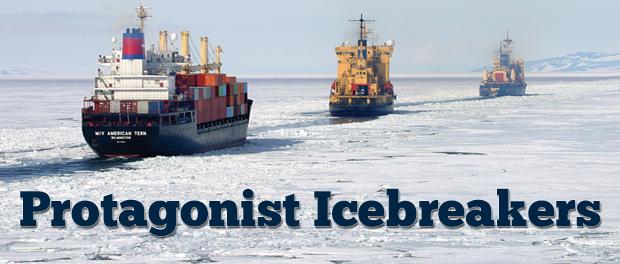 150109 Novel Fridays Protagonist Icebreakers Blog Graphic